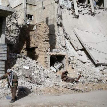 Syrie : Mettre fin à l'impunité pour les atrocités en Ghouta orientale