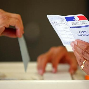 People With Disabilities To Get Vote in France