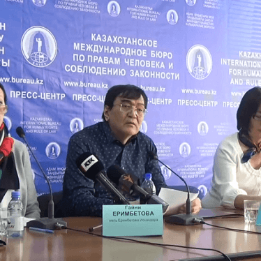 Kazakhstan: Businessman Alleges Torture