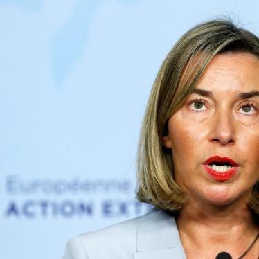 Top EU Diplomat Should Deliver Tough Message to Azerbaijan