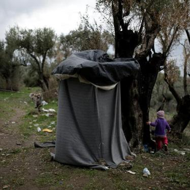 Misery for Women and Girls in Greece's Island Paradise