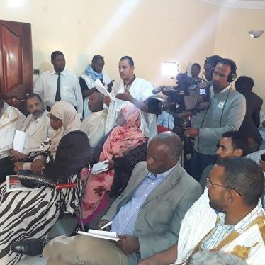 La conférence de presse de Human Rights Watch en Mauritanie perturbée