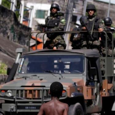 Brasil: Forças Armadas Conferem Ampla Discricionariedade para Uso da Força Letal