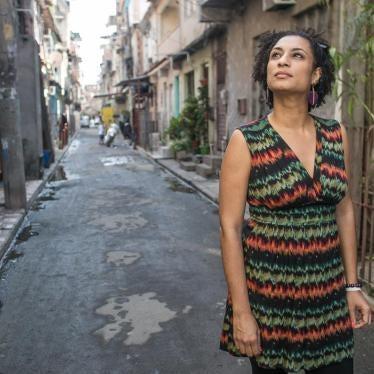 Declaração da Human Rights Watch sobre os dois meses da morte da vereadora Marielle Franco e Anderson Pedro Gomes: