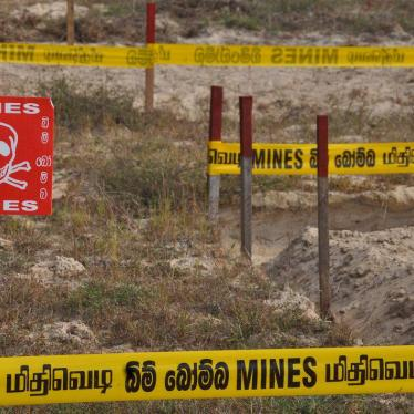 Sri Lanka Bans Cluster Munitions