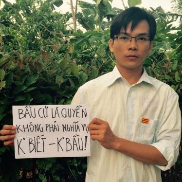 Vietnam: Drop Charges Against Rights Activist