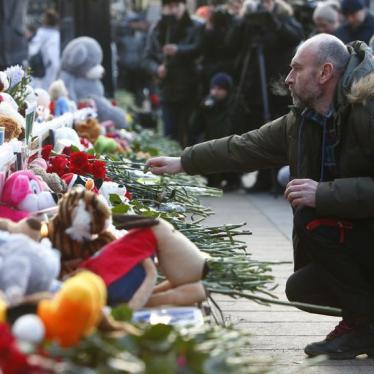 Shopping Mall Tragedy Raises Concerns About Russian Response