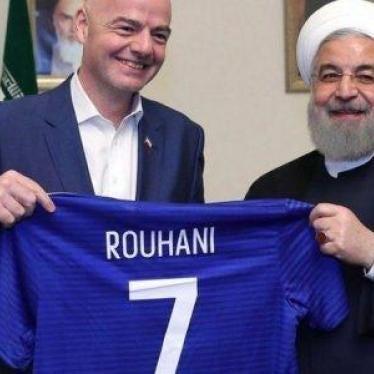 الإيرانيات يُمنَعن من مشاهدة كرة القدم والفيفا تخيب آمالهن