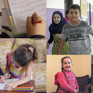 Lebanon: Schools Discriminate Against Children with Disabilities