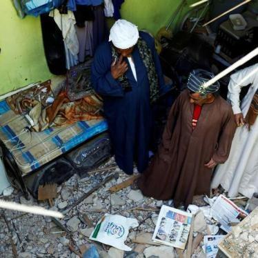 Saudi Arabia/Yemen: Houthi Missile Attacks Unlawful