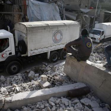 UN Security Council Should Protect Eastern Ghouta