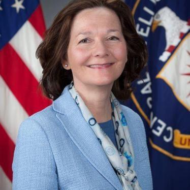 US Senate: Reject Haspel for CIA Director