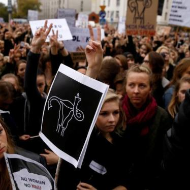 Polish Parliament Must Protect Women's Health and Rights
