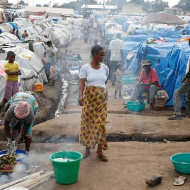 Displaced Congolese Face Being Returned to Harm's Way
