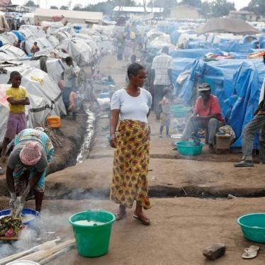 Des Congolais déplacés risquent d'être renvoyés de force vers une zone dangereuse