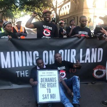 Villagers Demand the Right to Say No to Mining in their South African Community