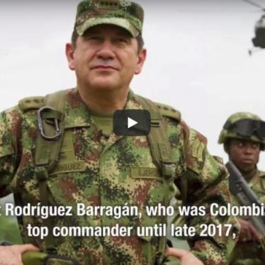 Why Would Colombia's Top Commander Try to Intercept my Communications?