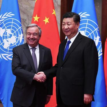 UN Chief Puts China's Leaders Over Its People