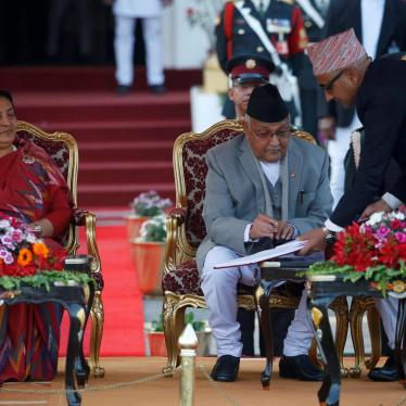 Nepal: New Government Needs to Prioritize Rights