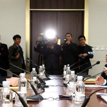 South Korea: Press Human Rights in Discussions with North Korea