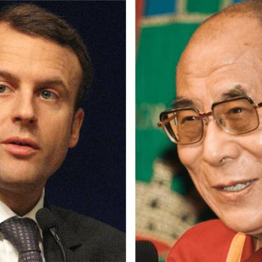马克龙向中国人权观低头
