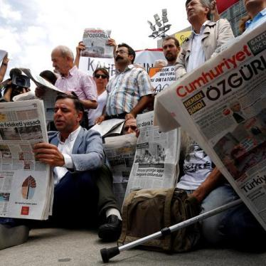 Turkey: Journalists Convicted for Doing Their Jobs