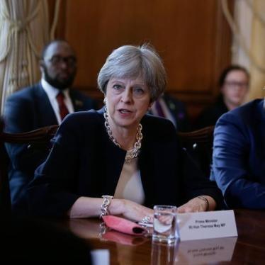 Theresa May 'Deeply Regrets' Colonial Anti-LGBT Laws