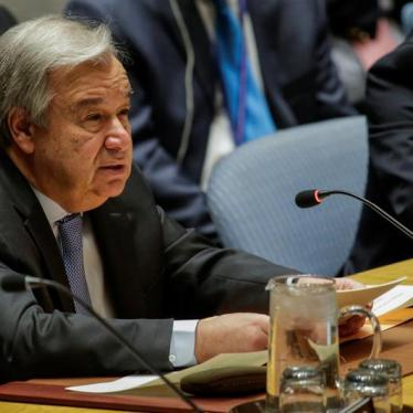 47 Groups Urge UN Secretary-General to Act on Syria