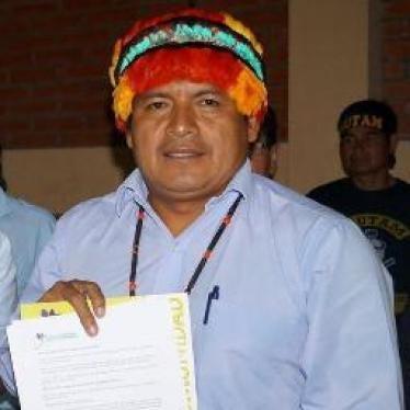 Ecuadorian Court Acquits Amazonian Leader