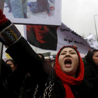Afghan Government Ignoring Violence Against Women