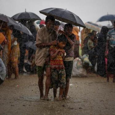 Bangladesh's Monsoon Season Threatens Rohingya Refugees