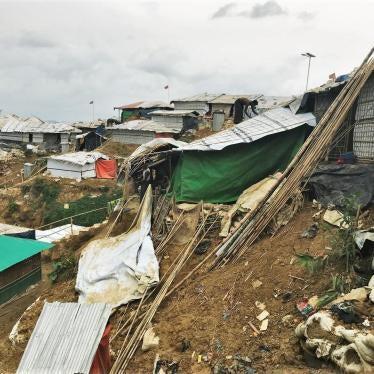 Bangladesh: Landslides Threaten Rohingya Shelters