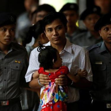 Journalists Watch from Prison as Myanmar Backslides