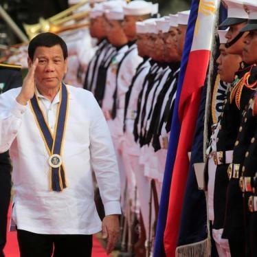 Duterte Threatens Summary Execution of Drug Suspects. Again.