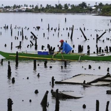 After Typhoon, Who Is Responsible for Climate Change?