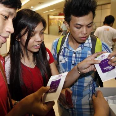 Philippine AIDS Bill Silent on Condom Promotion