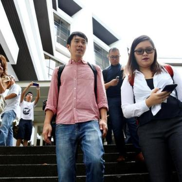 Singapore: Drop Charges for Criticizing Judiciary