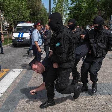 Protesters Detained in Kazakhstan