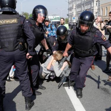 From Kids to Leaders, Russia Cracks Down on Protesters
