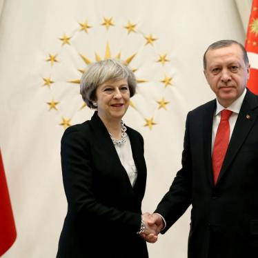 Britain Should use Erdogan Visit to Speak out on Human Rights