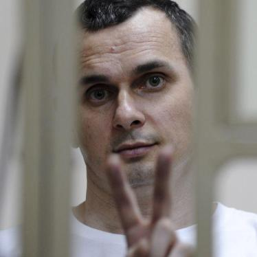 Russia Should Free Oleg Sentsov Before FIFA World Cup