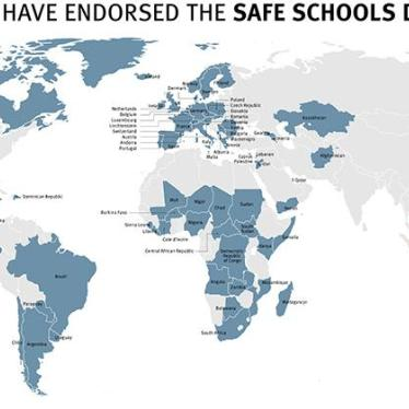 Rising Global Support for Safe Schools