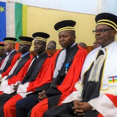 Lettre au Parlement centrafricain sur le Règlement de Procédure et de preuve de la CPS