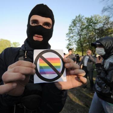 Russia's 'Gay Propaganda' Censor Attacks Health Website