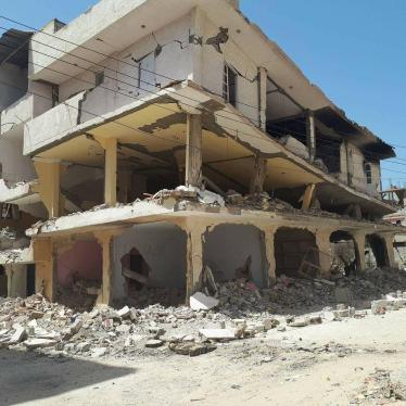 "A house that the Egyptian army demolished in March 2018 in al-Arish as ""retaliation"" against suspects. © 2018 Private"