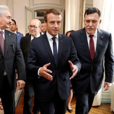 قمة باريس: تحسين الأوضاع الحقوقية قبل الانتخابات في ليبيا