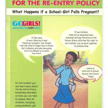 Zambia Should Keep Young Mothers in School