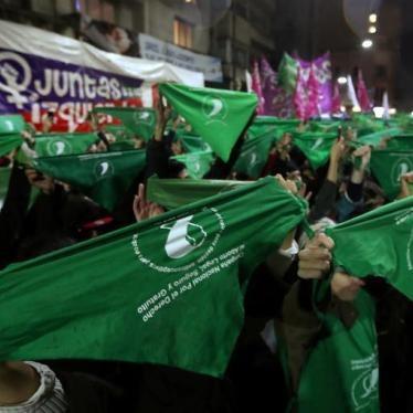 Argentina debe aprobar ley para despenalizar el aborto