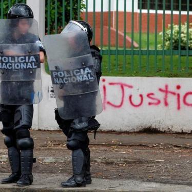 OAS: Condemn Egregious Abuses in Nicaragua