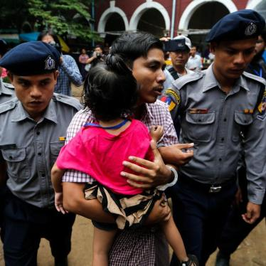 Myanmar: Free Reuters Journalists, Drop Case